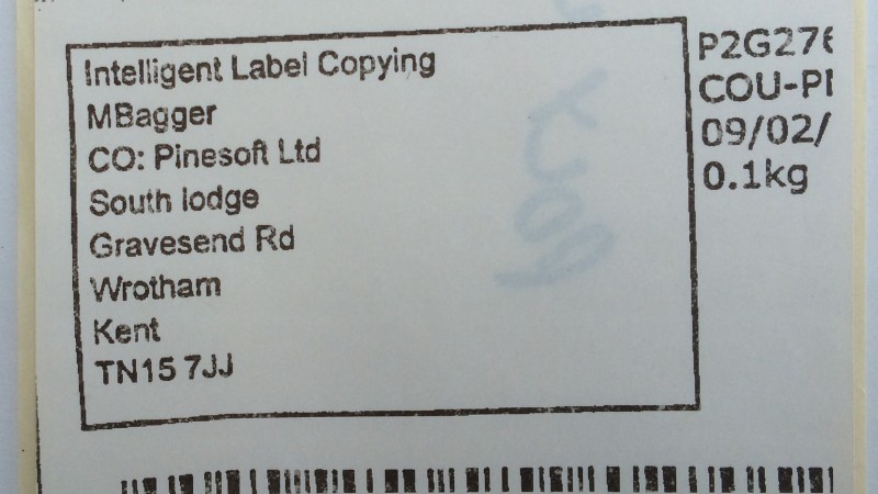M-Bag Label,Thermal Label Copy,Address Label Copy,Poly Wrap Label Copy